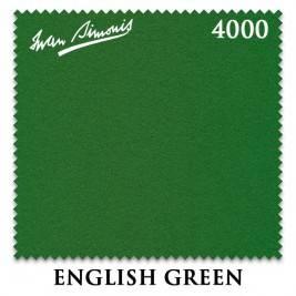 ����� ��������� Iwan Simonis 4000 snooker, 193 ��, English Green (�������� �� ���� 12�)
